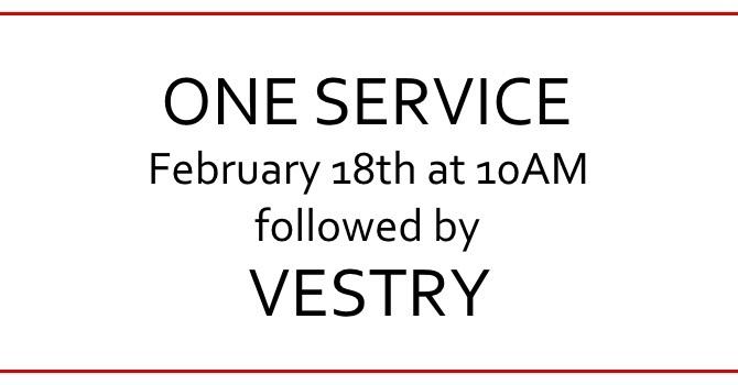 One Service February 18 image