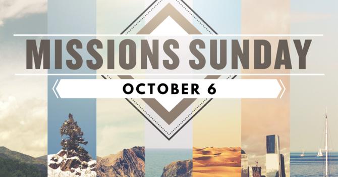 Missions' Sunday 2019