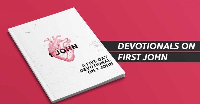 Free Devotional for Students: 1 John image