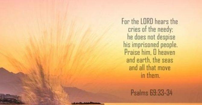 A Psalm 69 Prayer image