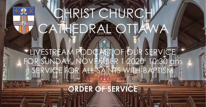 Order of Service for All Saints Sunday with Baptism