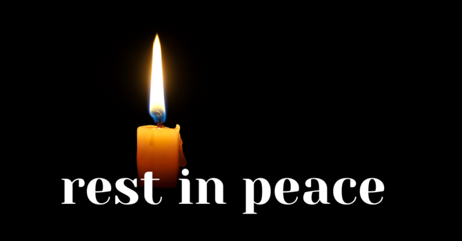 Rest in Peace: Margaret Firth, O.N. image