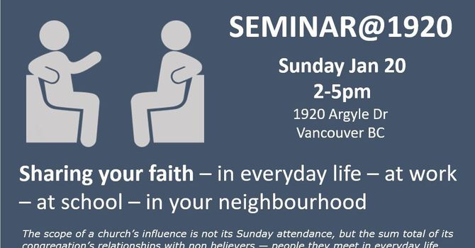 How to Evangelize Your Friends Seminar - Part 1