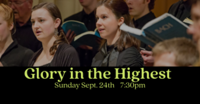 Glory in the Highest Nov 24 7.30pm image