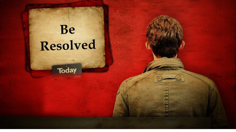 Be Resolved