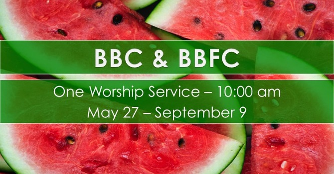 Summer Service Hours image