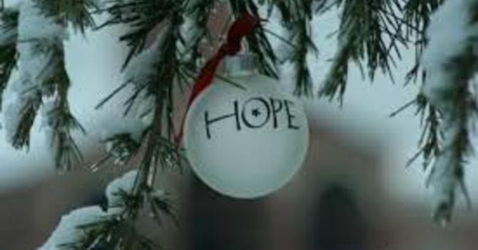 Advent 1 - Hope image
