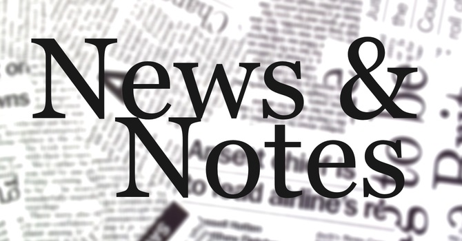 News & Notes Oct 7 image