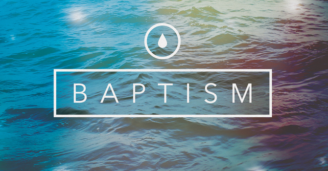 Baptisms @ Retreat this Weekend!