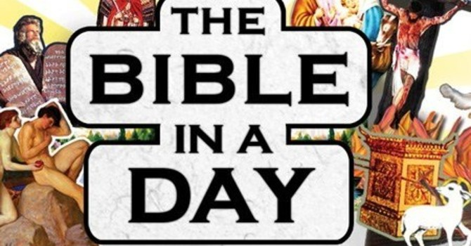 Bible in a Day is back! image
