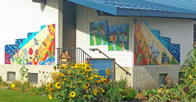 St. Augustine of Canterbury collaborates with neighbours on art installation image