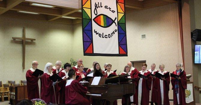 Wesley's Senior Choir image