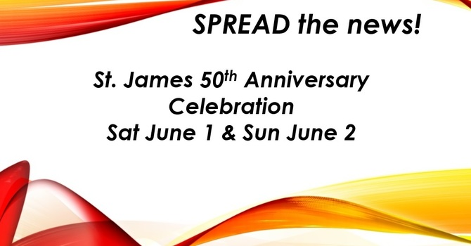 St. James 50th Anniversary image