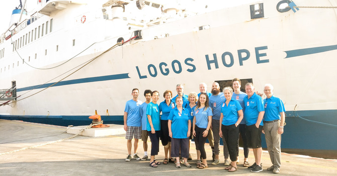 Operation Mobilization Ships (MV Logos Hope)