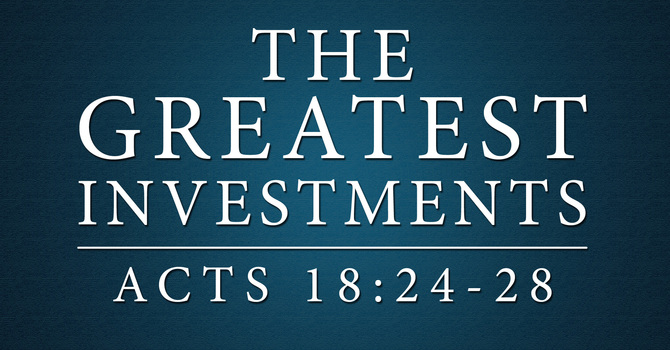 The Greatest Investments