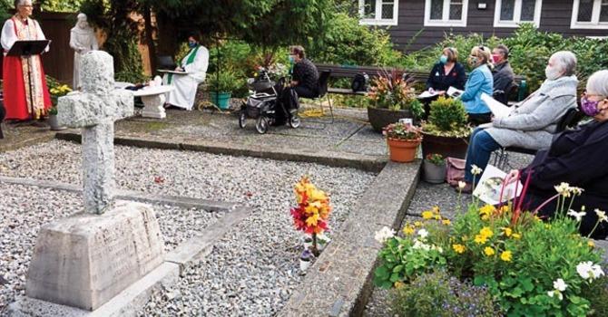 Blessing of St. Stephen's Pet Memorial Garden image