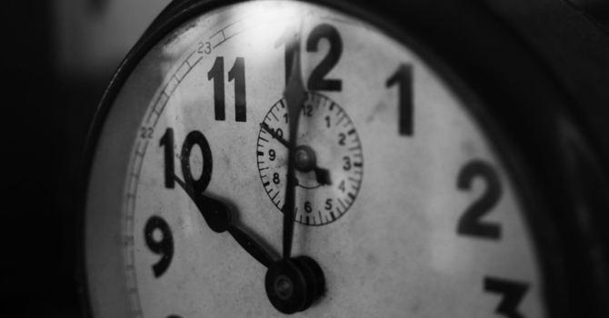 Set that clock! image