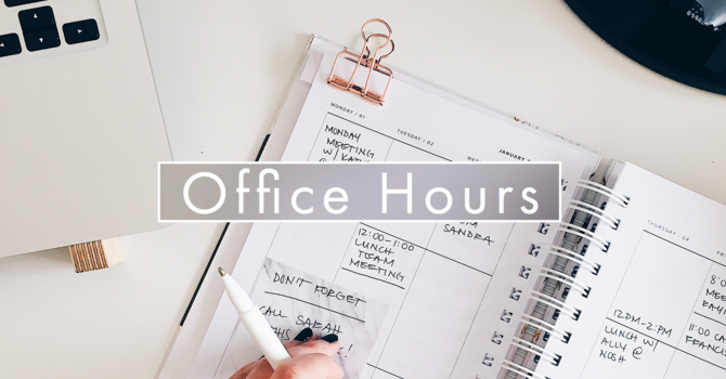 Christmas Office Hours image