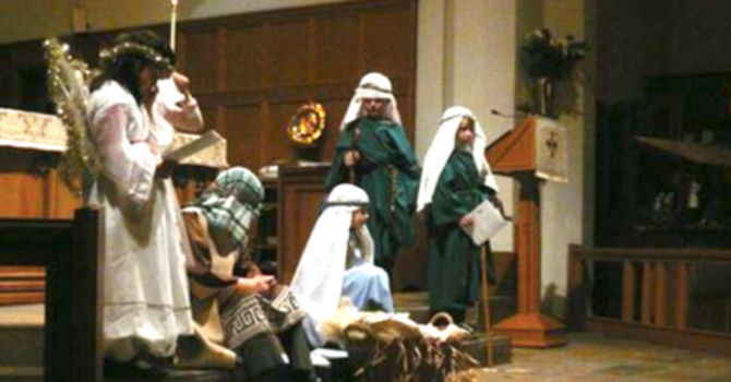 Children's Christmas Service with Tableau