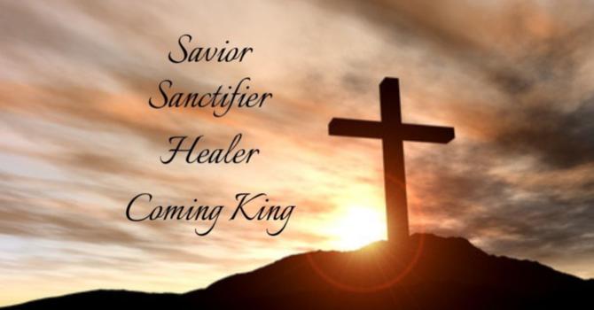 Christ As...Savior & Sanctifier