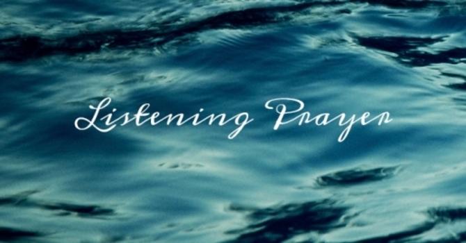 Listening Prayer Ministry Training