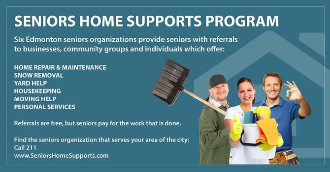 Seniors Home Supports Program image