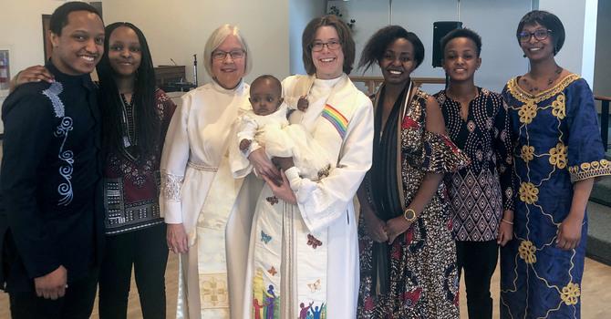 Holy Trinity Riverbend Celebrates Dedication of Baby Faye