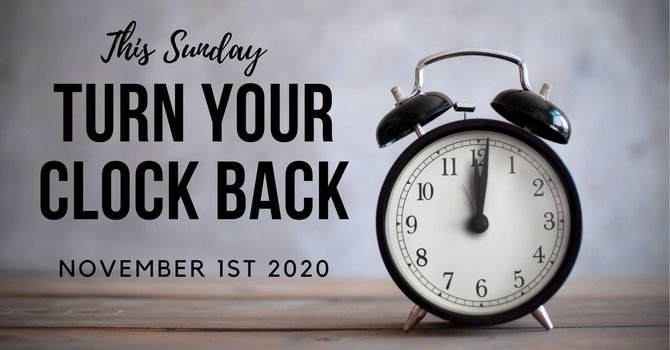 Turn Your Clock Back image