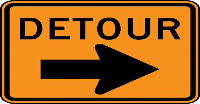 Detours on the Path to Our Dreams