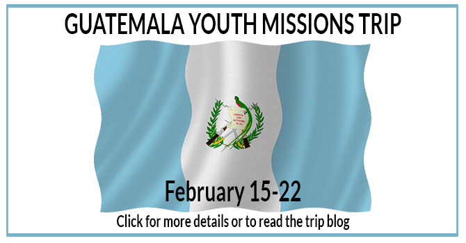 2018 Guatemala Youth Missions Trip image