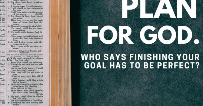 Plan for God