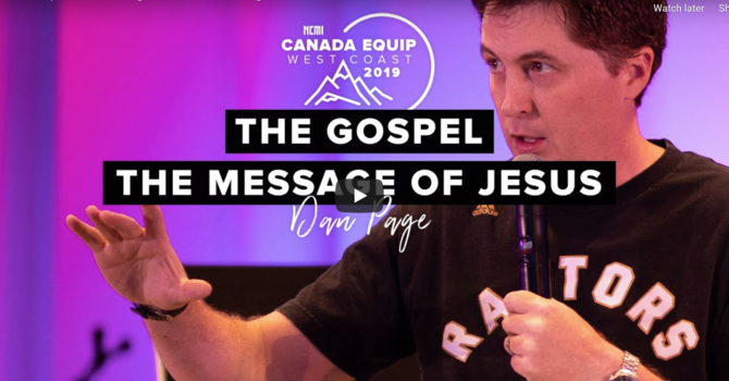 The Gospel, The Message of Jesus