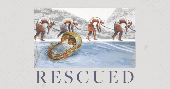 Life Group Curriculum - Rescued - God Hears, Wk 1 image