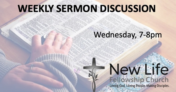 Weekly Sermon Discussion