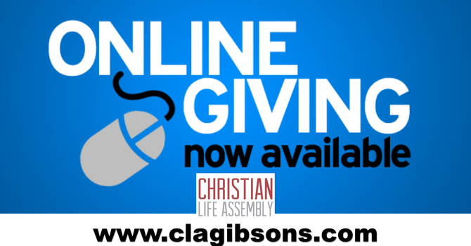 Online Giving Now Available!! image