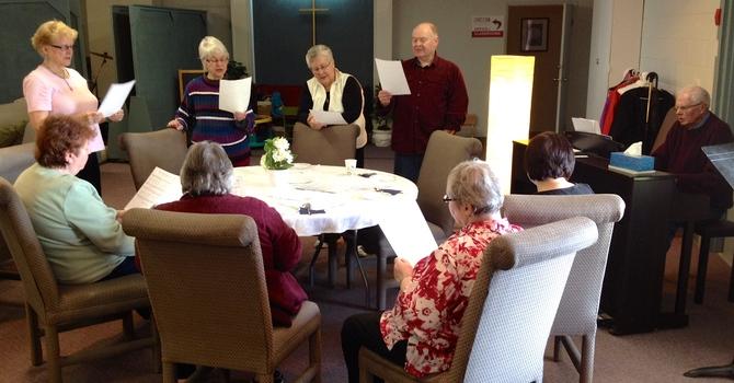 Seniors Gathering Together image