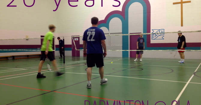 Last Monday for Badminton image