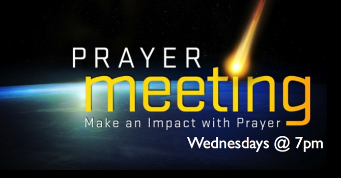 Prayer Night on Wednesdays image