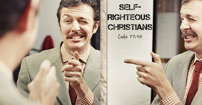 Self-Righteous Christians image