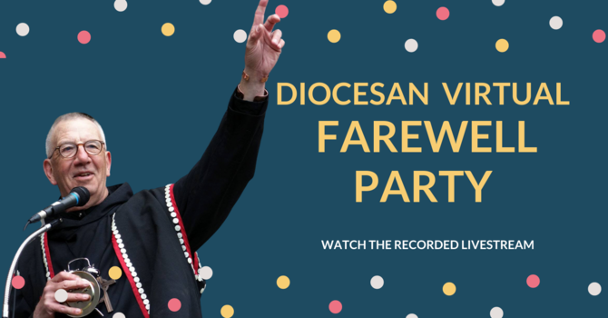 Bishop Logan's farewell recorded live stream available image