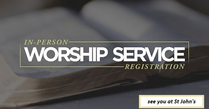Registration for our *next*  Service!