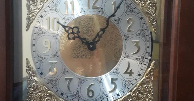 Daylight savings time. Fall back on November 1st