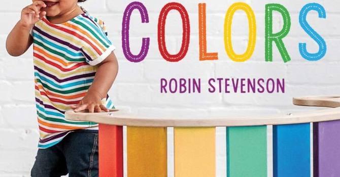 Pride Colors by Robin Stevenson image