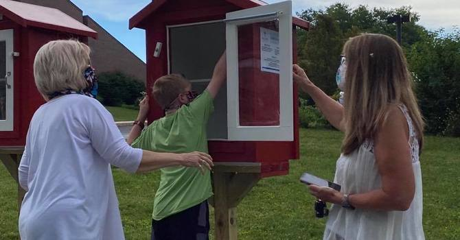 Little Free Pantry & Little Free Library image