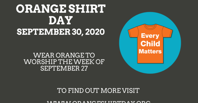 Orange Shirt Month: Resources  image
