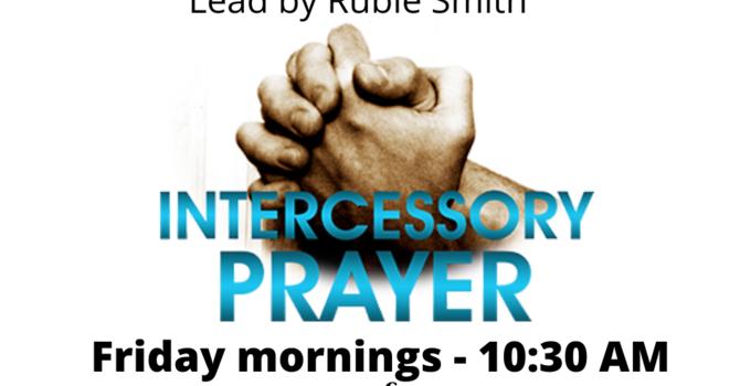 Intercessory Prayer Meeting