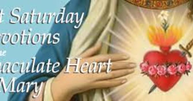 First Saturday Mass in Honor of Our Lady