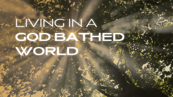 Living in a God Bathed World