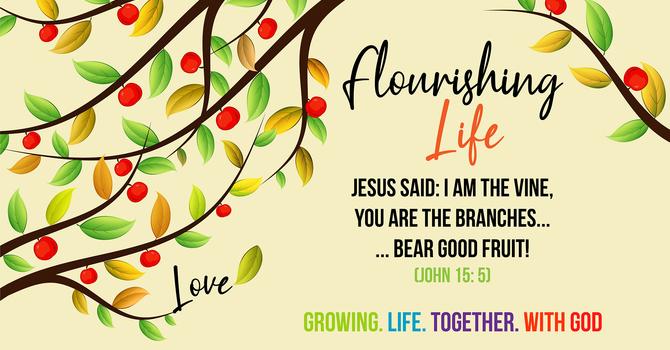 Flourishing Life by Rev. Fiona Swanson