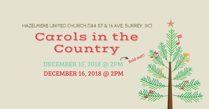 Carols in the Country image